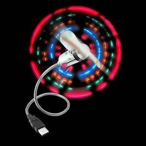Ανεμιστηράκι USB Fan με Led Light Bulk