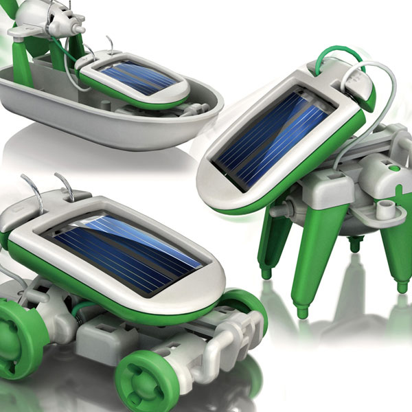 Ηλιακό Ρομπότ 6 σε 1