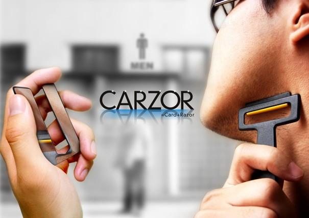 Ξυραφάκι Πιστωτική Carzor