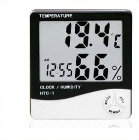 Θερμόμετρο Υγρόμετρο Ρολόι OEM 765