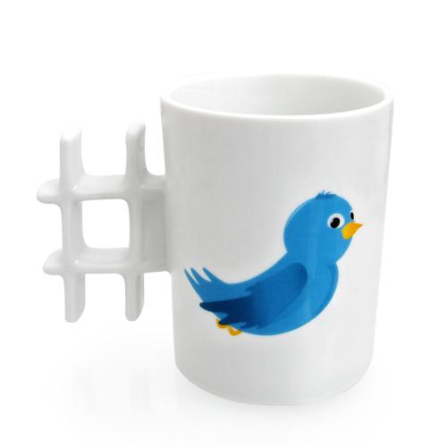 Κούπα Καφέ '#' Tweet