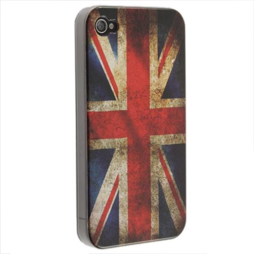 Θήκη Ρετρό Σημαία iPhone 4/4S, OEM 425 Bulk