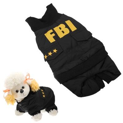 Ρούχα για Σκυλάκια FBI