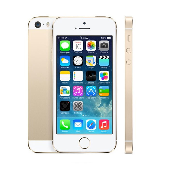 Apple iPhone 5S 16GB Gold EU (Δώρο Tempered Glass + Θήκη)
