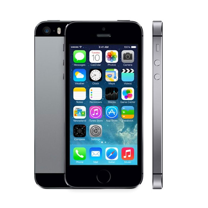Apple iPhone 5S 16GB Space Grey EU (Δώρο Tempered Glass + Θήκη)