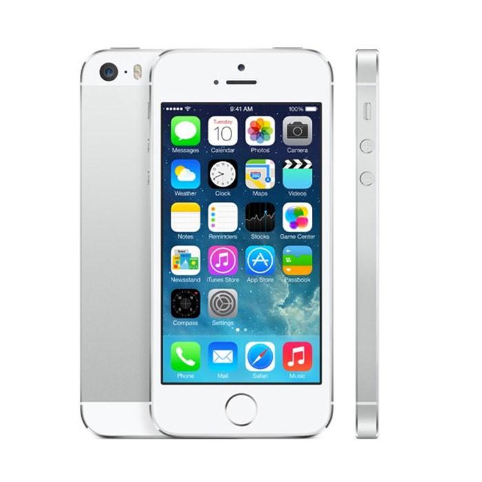 Apple iPhone 5S 16GB Silver EU (Δώρο Tempered Glass + Θήκη)