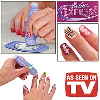 Σετ Διακόσμησης Νυχιών - Salon Express