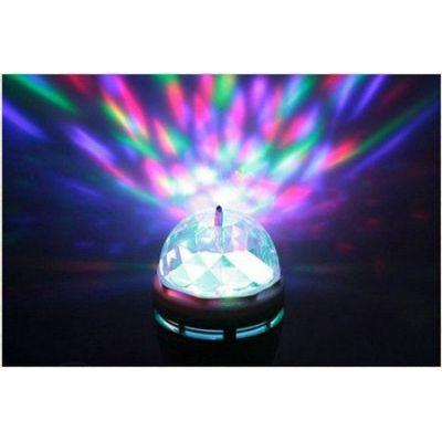 Περιστρεφόμενη Λάμπα RGB LED Full Color Party Lamp