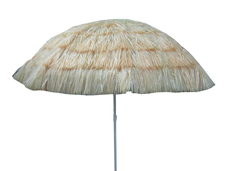 Ομπρέλα 2,10m 'Tropical Style' Μπεζ