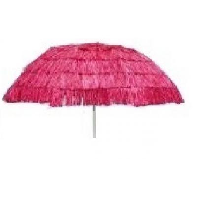 Ομπρέλα 2,10m 'Tropical Style' - Ροζ