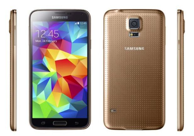 Samsung Galaxy S5 Mini G800 16Gb Gold EU (Δώρο Tempered Glass + Θήκη)