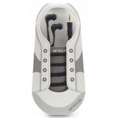 Hands Free Ancus in-Earbud Stereo 3.5 mm για Apple-Samsung-HTC-BlackBerry-LG Μαύρο