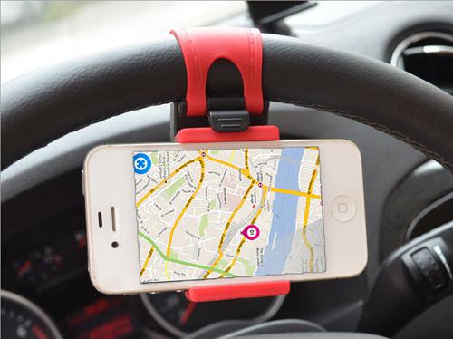 Βάση Στήριξης Κινητού Για Τιμόνι Αυτοκινήτου