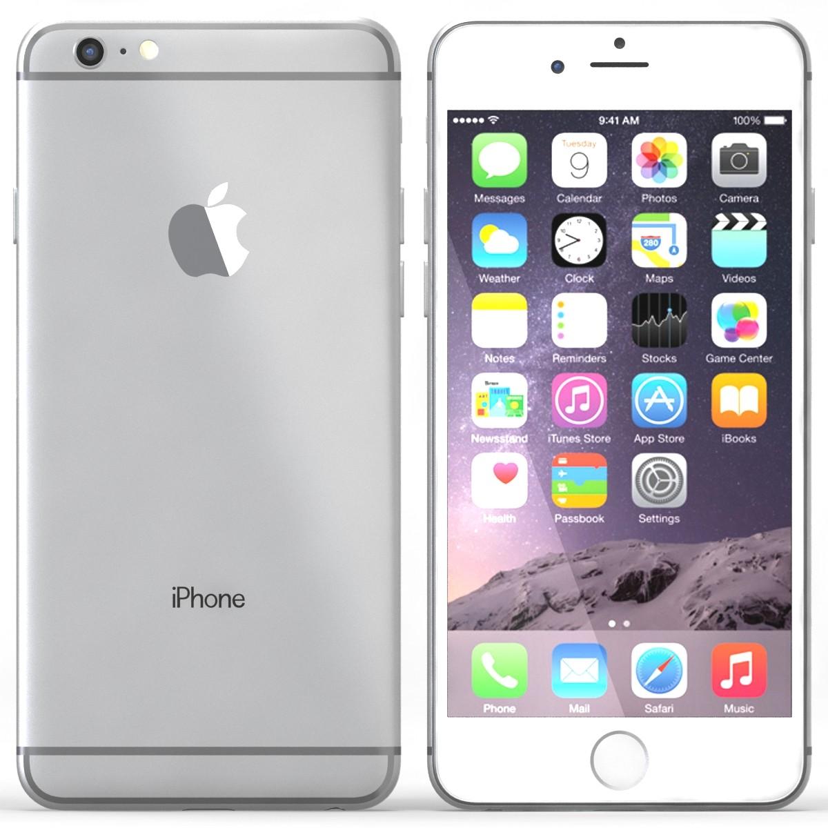 Apple iPhone 6 Plus 16GB Silver White EU (Δώρο Tempered Glass + Θήκη)