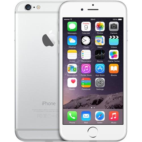Apple iPhone 6 16GB Silver White EU  (Δώρο Tempered Glass + Θήκη)