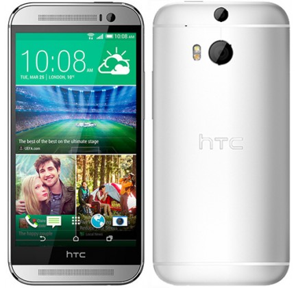 HTC One M8 4G 16GB Glacial Silver EU