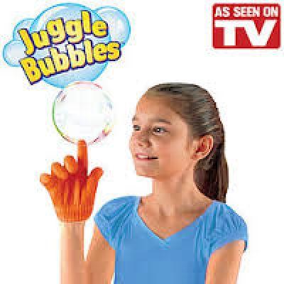 Σετ Παιχνίδι με Σαπουνόφουσκες και Μαγικά Γάντια για να τις Πιάνετε - Juggle Bubbles