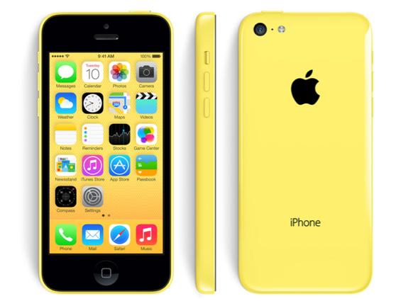 Apple iPhone 5C 8GB Yellow EU