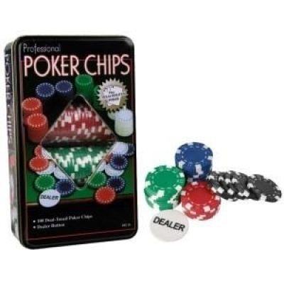 Πόκερ Σετ 100 Μάρκες