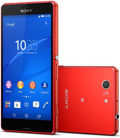 Sony Xperia Z3 D5803 Compact 4G NFC 16GB Orange EU (Δώρο Tempered Glass + Θήκη)