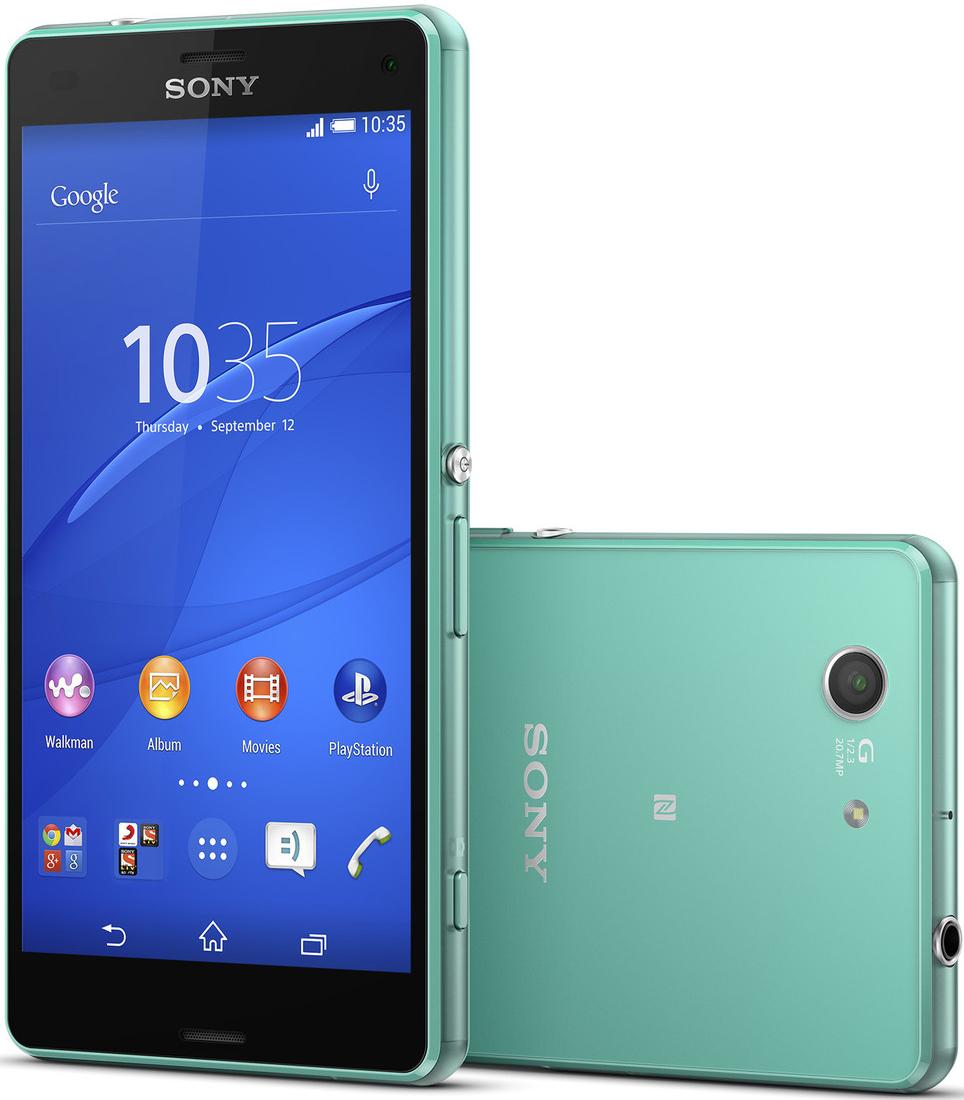 Sony Xperia Z3 D5803 Compact 4G NFC 16GB Green EU (Δώρο Tempered Glass + Θήκη)