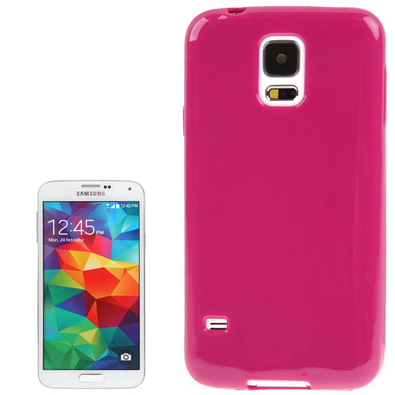 TPU Θήκη για Samsung Galaxy S5 / G900 - Ροζ