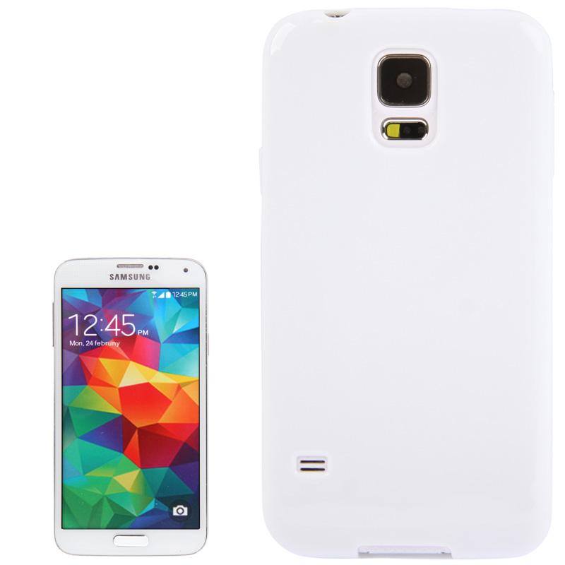 TPU Θήκη για Samsung Galaxy S5 / G900 - Λευκή