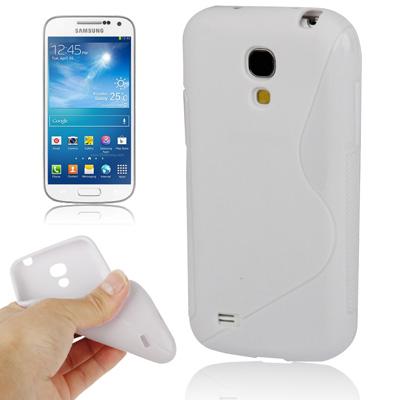 Ελαστική Anti Skid TPU Θήκη Samsung Galaxy S4 mini - Λευκή