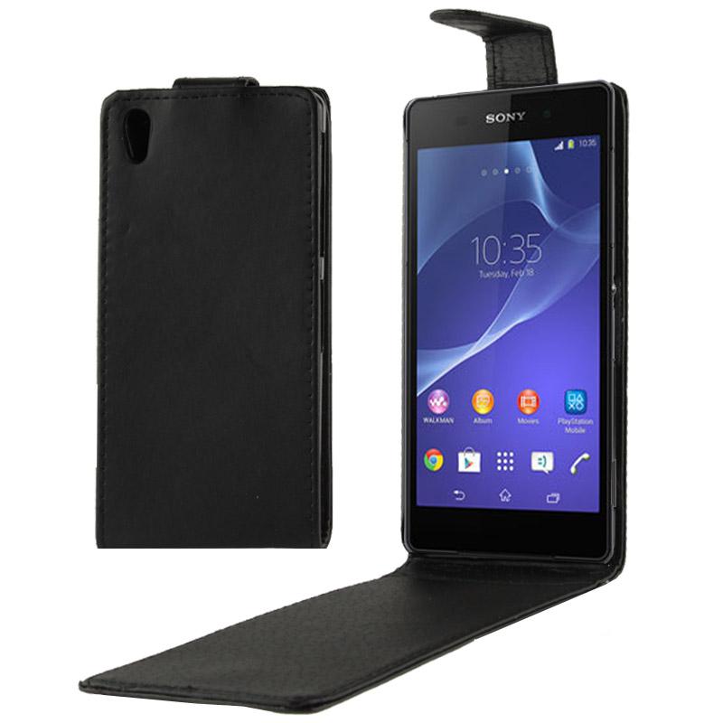 Θήκη Flip με Μαγνητικό Κούμπωμα Black  Sony Xperia Z2