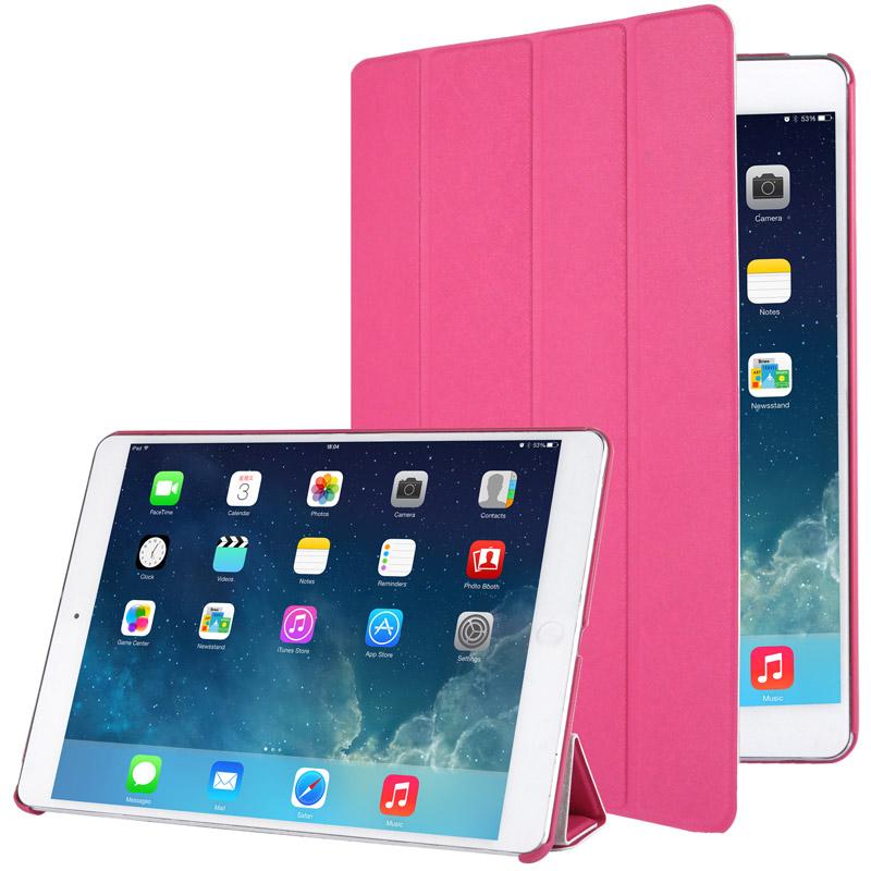 Δερμάτινη Θήκη με πίσω Κάλυμμα iPad Air/Air 2 - Ροζ