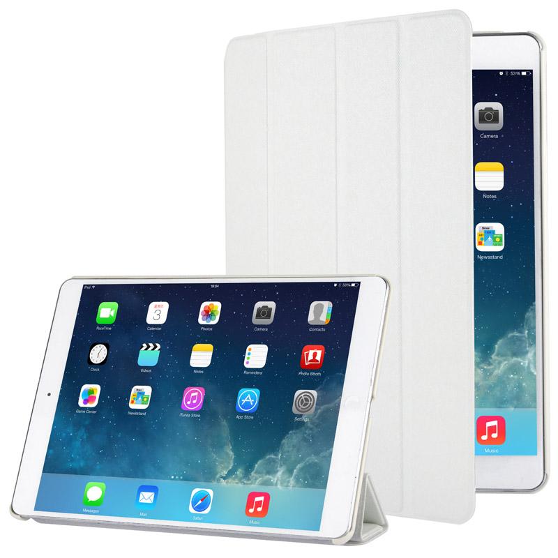 Δερμάτινη Θήκη με πίσω Κάλυμμα iPad Air/Air 2 - Λευκή