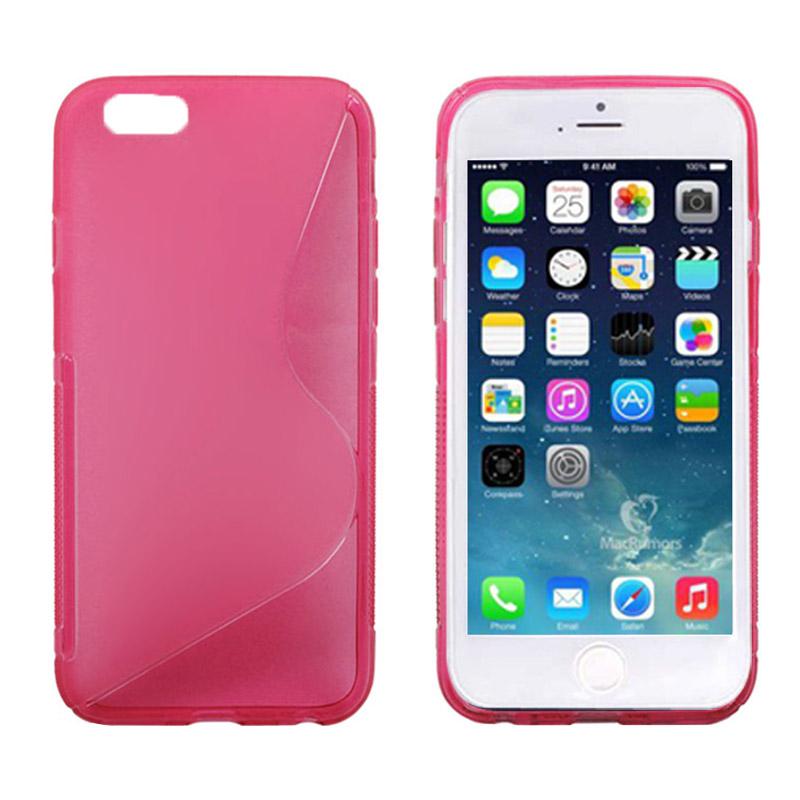 Ελαστική Θήκη TPU Anti Skid iPhone 6 - Ροζ