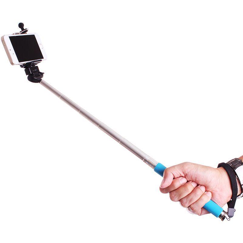 Πτυσσόμενο Μπαστούνι Κάμερας για Υπέροχες Φωτογραφίες Selfie Μπλε OEM