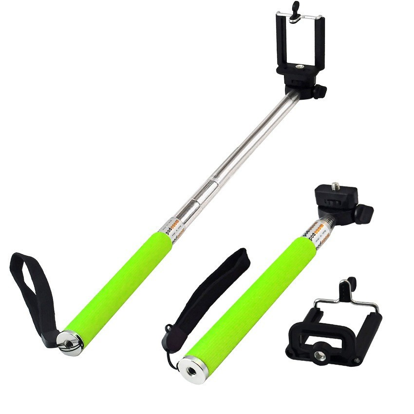 Πτυσσόμενο Μπαστούνι Κάμερας για Υπέροχες Φωτογραφίες Selfie Πράσινο OEM