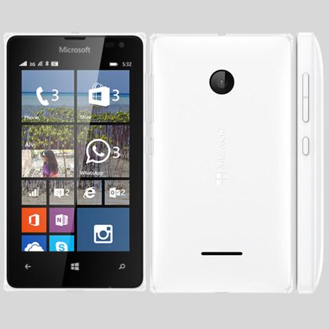 Microsoft 532 Lumia Dua 8GBl White EU (Δώρο Tempered Glass + Θήκη)
