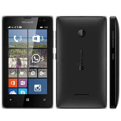 Microsoft 532 Lumia Dual 8GB Black EU (Δώρο Tempered Glass + Θήκη)