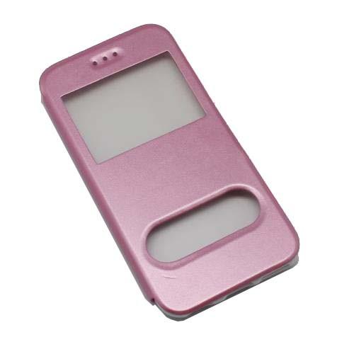 iPhone 6  Θήκη Book Window Pink OEM