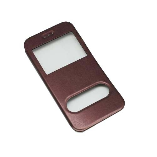 iPhone 6  Θήκη Book Window Brown