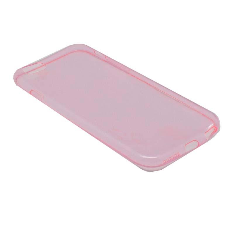 iPhone 6 Θήκη Ultra Slim Σιλικόνη TPU 0,3mm Pink