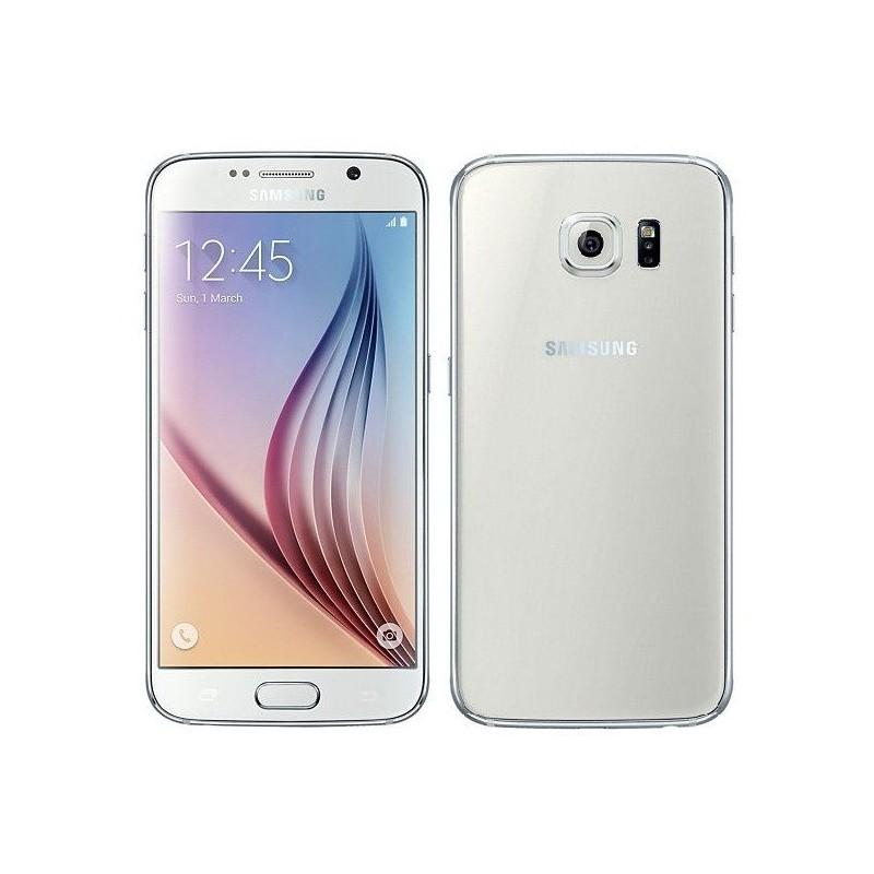 Samsung Galaxy S6 G920F 128GB White EU (Δώρο Tempered Glass + Θήκη)