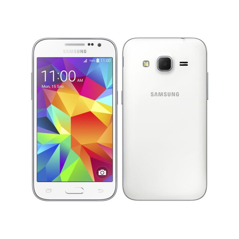 Samsung Galaxy Core Prime G361F White EU (Δώρο Tempered Glass + Θήκη)