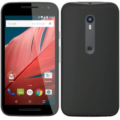 Motorola Moto G 3rd Gen XT1541 8GB Black EU (Δώρο Tempered Glass + Θήκη)