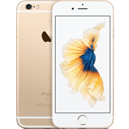 Apple iPhone 6s 16GB Gold EU  (Δώρο Tempered Glass + Θήκη)