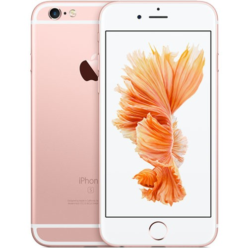 Apple iPhone 6s 16GB Rose Gold EU  (Δώρο Tempered Glass + Θήκη)