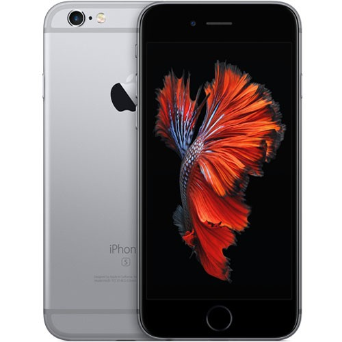 Apple iPhone 6s 16GB Space Grey EU (Δώρο Tempered Glass + Θήκη)