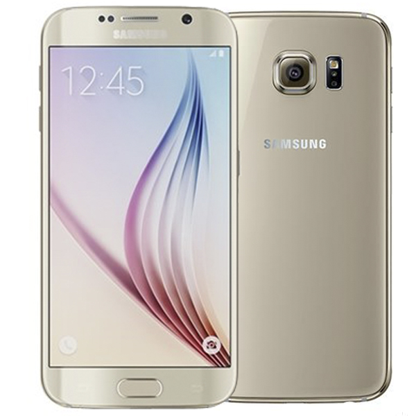 Samsung Galaxy S6 G920F 64GB Gold EU (Δώρο Tempered Glass + Θήκη)