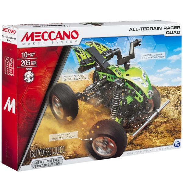 TOY MECCANO ALL-TERRAIN VEHICLE (91778)