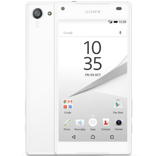 Sony Xperia Z5 Compact E5823 4G 32GB White EU (Δώρο Tempered Glass + Θήκη)