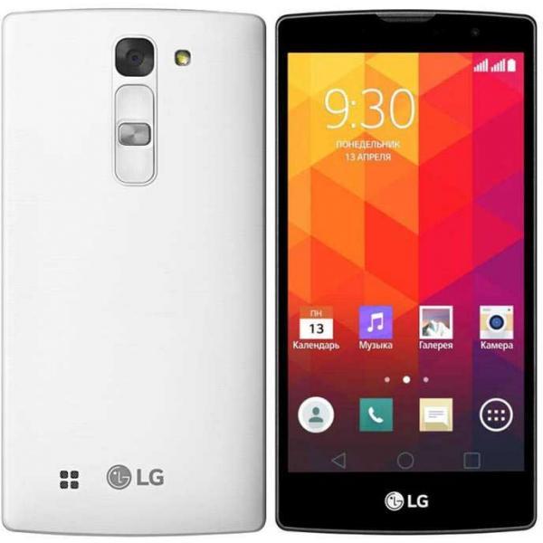 LG Magna H500F Y90 8GB White EU (Δώρο Tempered Glass + Θήκη)