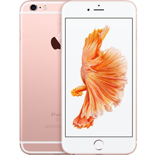 Apple iPhone 6s Plus 64GB Rose Gold EU (Δώρο Tempered Glass + Θήκη)  (Αγγλικός Φορτιστής + Αντάπτορας)